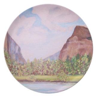 Yosemite National Park -  Plate