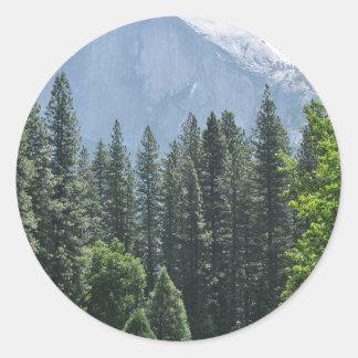 Yosemite National Park Round Sticker