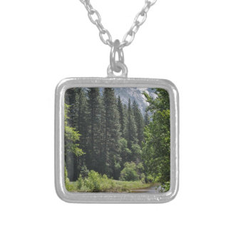 Yosemite National Park Silver Plated Necklace