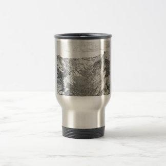 Yosemite National Park (sliver travel mug) Travel Mug