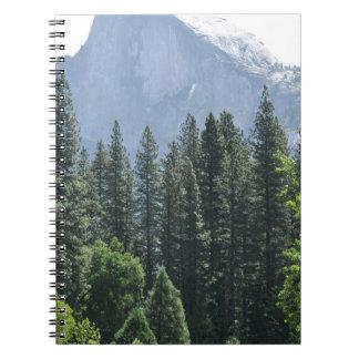 Yosemite National Park Spiral Notebooks
