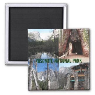 Yosemite National Park Square Magnet