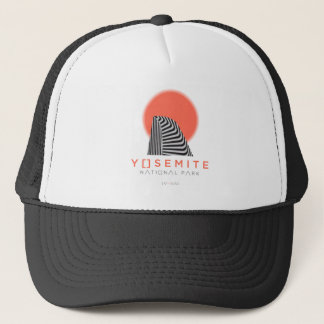 Yosemite National Park T-Shirt - Half Dome Tee Trucker Hat