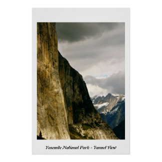 YOSEMITE NATIONAL PARK - TUNNEL VIEW PRINT