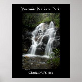 Yosemite National Park  WaterFall Print