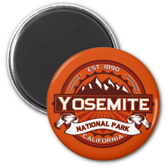Yosemite Natl Park Crimson Magnet