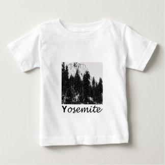 Yosemite No. 1 Black and White Baby T-Shirt