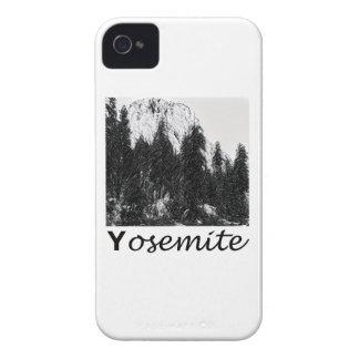 Yosemite No. 1 Black and White Case-Mate iPhone 4 Cases