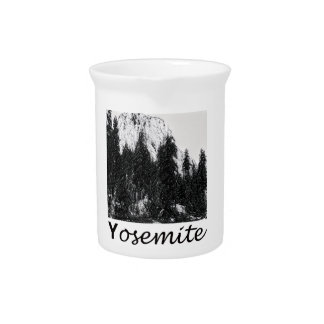 Yosemite No. 1 Black and White Drink Pitcher