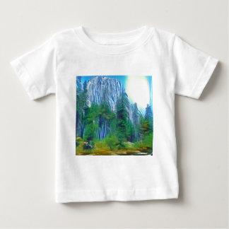 Yosemite No. 3 Mountain and Sun Baby T-Shirt