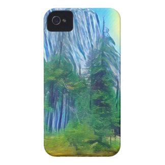 Yosemite No. 3 Mountain and Sun iPhone 4 Covers