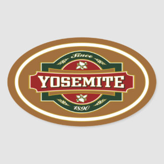 Yosemite Old Label