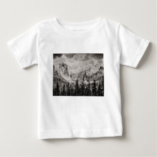 Yosemite Park in Winter Baby T-Shirt