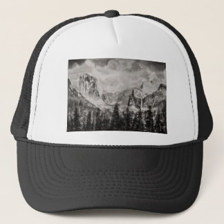 Yosemite Park in Winter Trucker Hat
