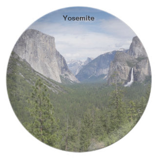 Yosemite plate