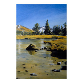 Yosemite Pond Print