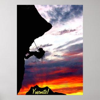 Yosemite poster print