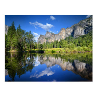 Yosemite Reflection Postcard