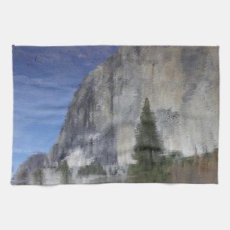 Yosemite Reflection Towel