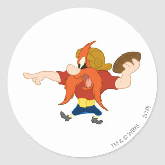 Yosemite Sam HIKE!!! Classic Round Sticker