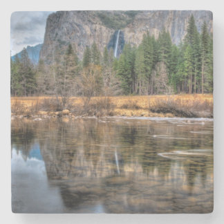 Yosemite Scenic Falls Stone Coaster