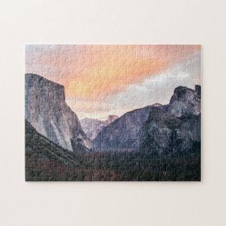 Yosemite Tunnel View Travel Photo California Jigsaw Puzzle
