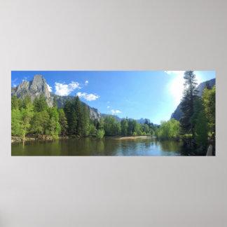 Yosemite Valley 2 Poster