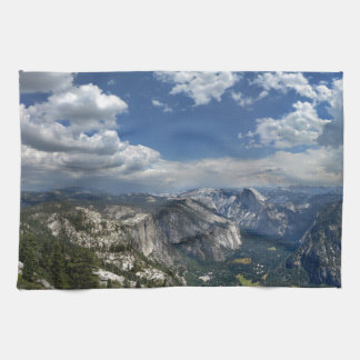 Yosemite Valley and Half Dome from Eagle Peak Kitchen Towel