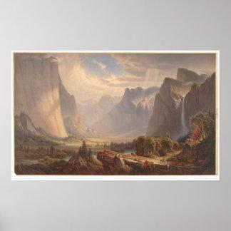 Yosemite Valley, California (0710A) Poster