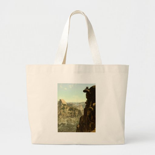 Yosemite Valley California Tote Bags