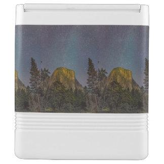 Yosemite Valley El Capitan night sky