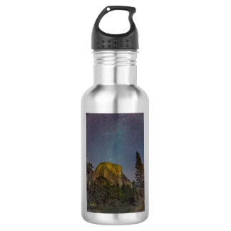 Yosemite Valley El Capitan night sky 532 Ml Water Bottle