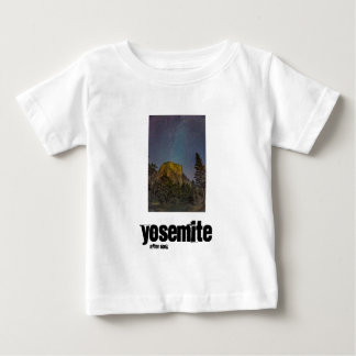 Yosemite Valley El Capitan night sky Baby T-Shirt