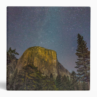 Yosemite Valley El Capitan night sky Binder