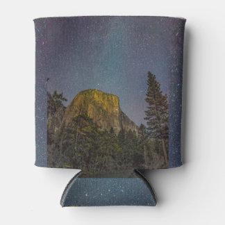 Yosemite Valley El Capitan night sky Can Cooler