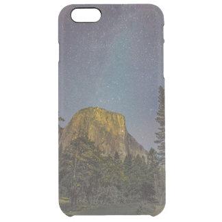 Yosemite Valley El Capitan night sky Clear iPhone 6 Plus Case