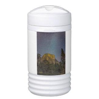 Yosemite Valley El Capitan night sky Drinks Cooler