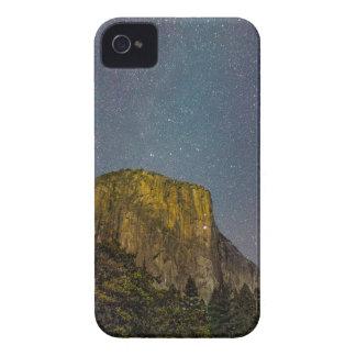 Yosemite Valley El Capitan night sky iPhone 4 Cases