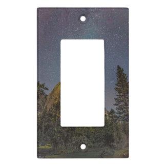 Yosemite Valley El Capitan night sky Light Switch Cover