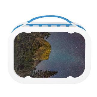 Yosemite Valley El Capitan night sky Lunch Box