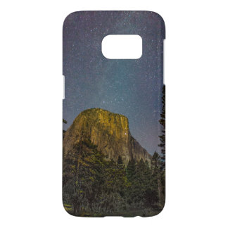 Yosemite Valley El Capitan night sky Samsung Galaxy S7 Case