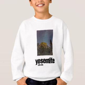 Yosemite Valley El Capitan night sky Sweatshirt