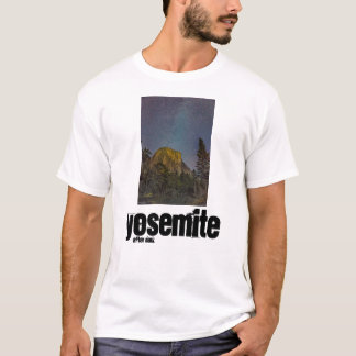 Yosemite Valley El Capitan night sky T-Shirt