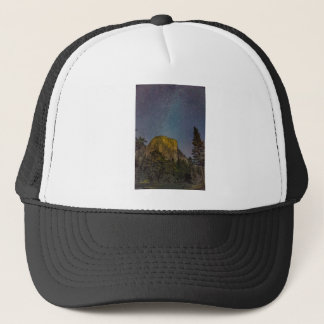 Yosemite Valley El Capitan night sky Trucker Hat