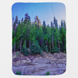 Yosemite Valley Forest & Sky Baby Blanket