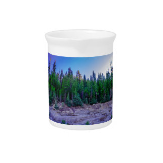 Yosemite Valley Forest & Sky Drink Pitchers
