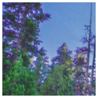 Yosemite Valley Forest & Sky Fabric