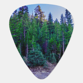 Yosemite Valley Forest & Sky Guitar Pick