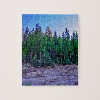 Yosemite Valley Forest & Sky Jigsaw Puzzle