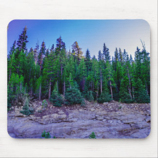 Yosemite Valley Forest & Sky Mouse Pad